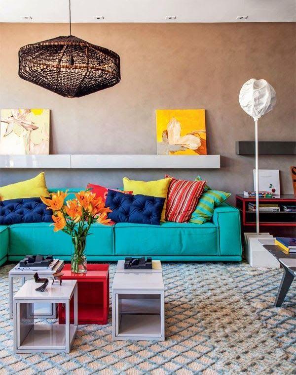 Acessórios decorativos para salas